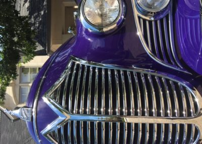 David Disiere's classic cars are a regular at the premiere classic car shows.
