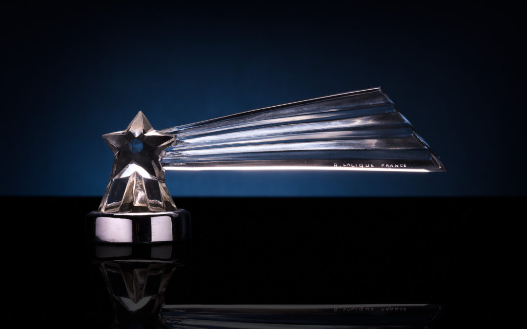 Lalique Mascot Feature: Comète Etoile Filante (Shooting Star Comet)