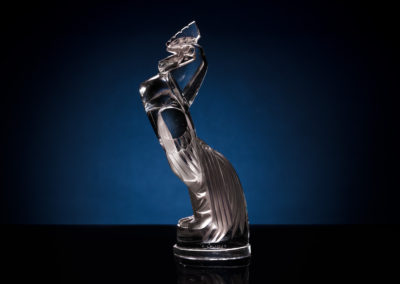 Coq Houdan - standing up rooster, David Disiere's collection - Lalique