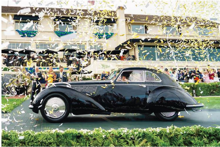 2018 Pebble Beach Concours Highlights