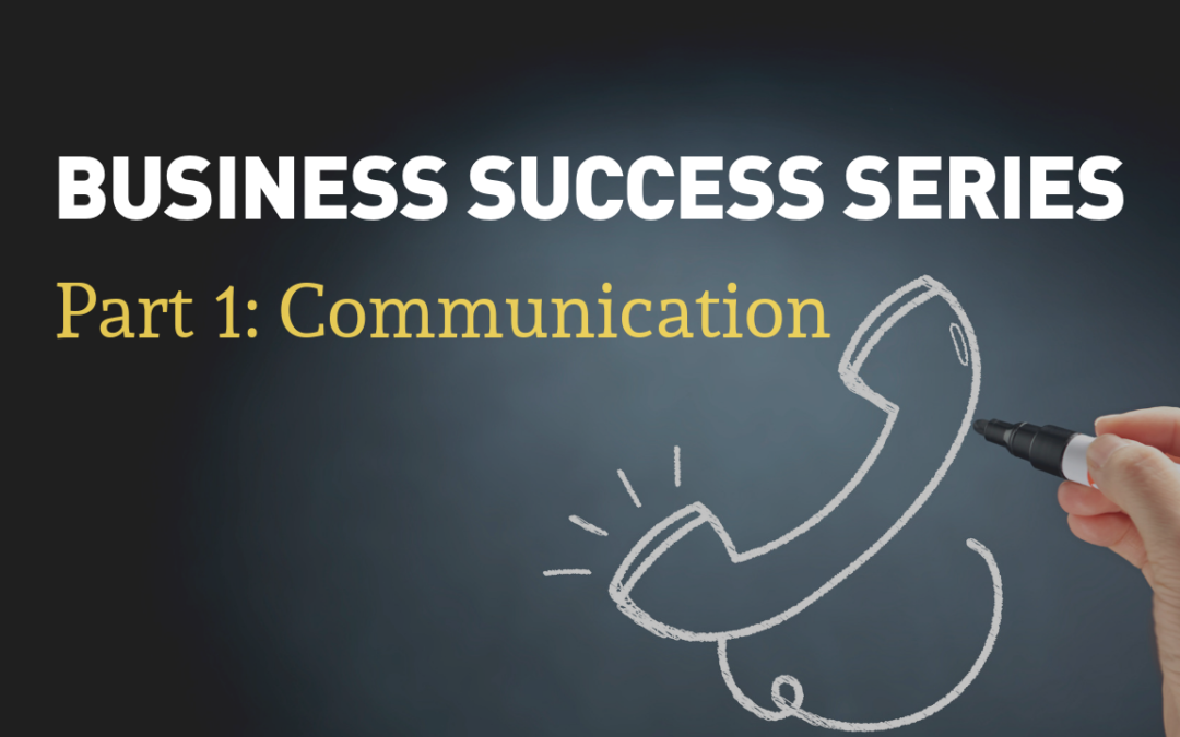 Business Success Series | Part 1: Communication