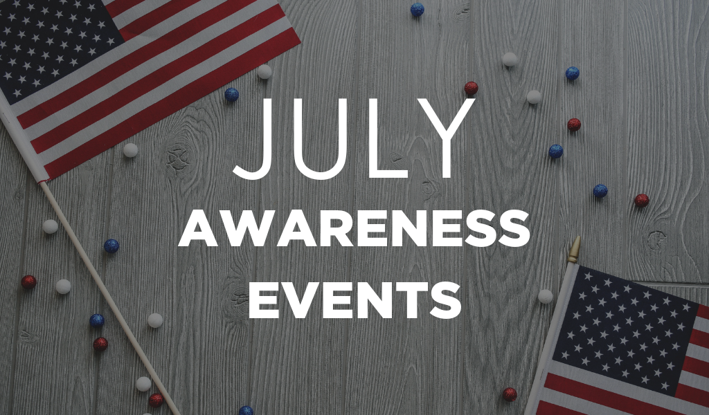 Awareness Events in July