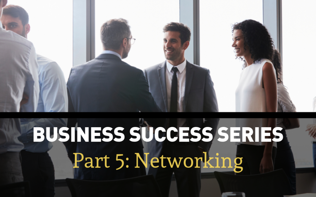 Business Success Series Part 5: Invest In Networking That Pays Off